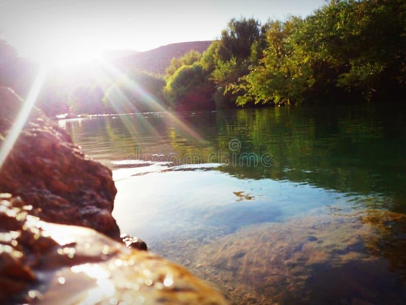 Ο ποταμός Assi στοκ εικόνες με δικαίωμα ελεύθερης χρήσης