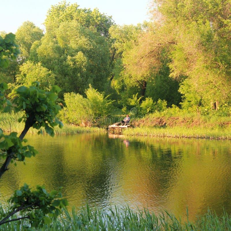 Ο ποταμός Tsna στοκ εικόνες με δικαίωμα ελεύθερης χρήσης
