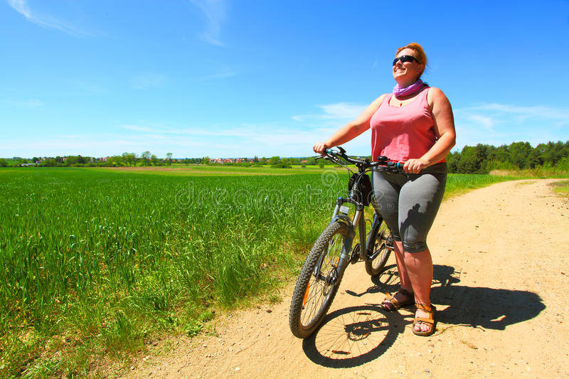 Ο ποδηλάτης στοκ εικόνες