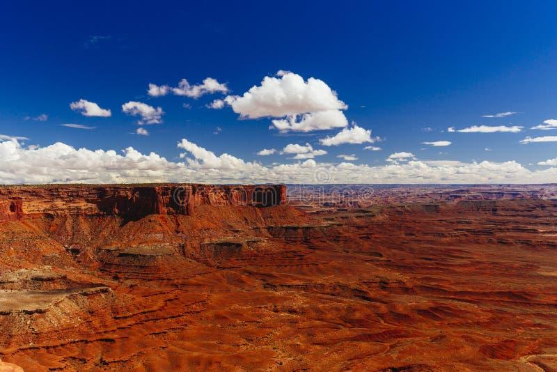 Ο πράσινος ποταμός αγνοεί, Canyonlands, εθνικό πάρκο, Γιούτα, ΗΠΑ στοκ εικόνα