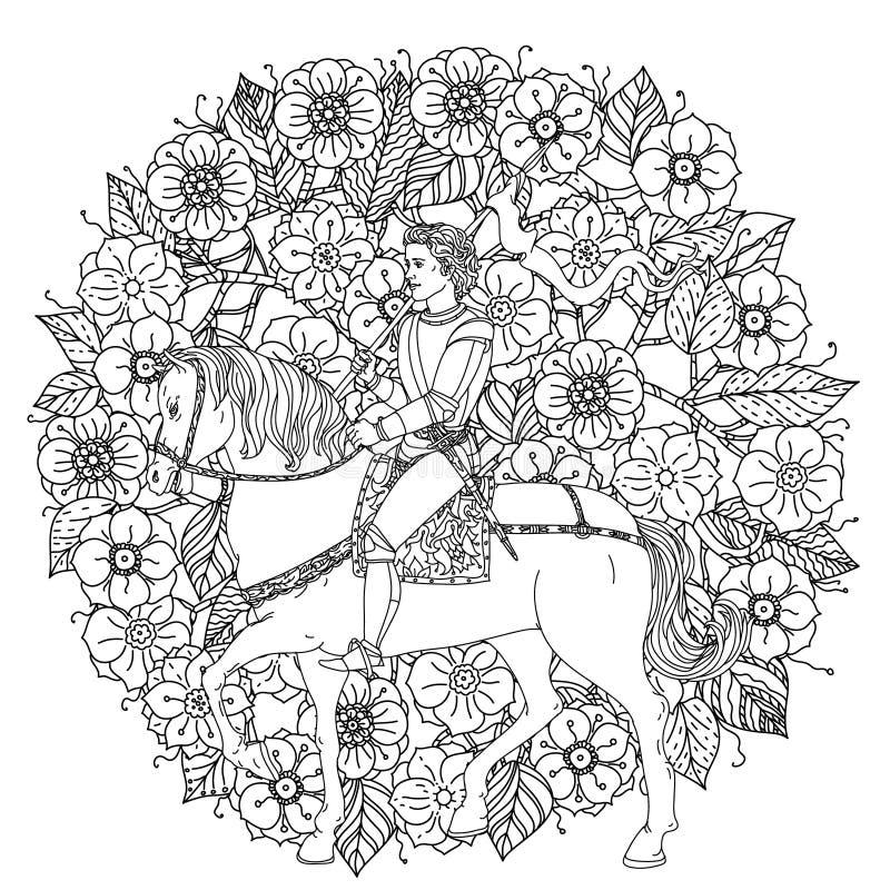 Ο πρίγκηπας από ένα παραμύθι απεικόνιση αποθεμάτων