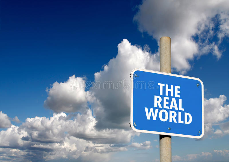 Ο πραγματικός κόσμος καθοδηγεί στοκ φωτογραφίες