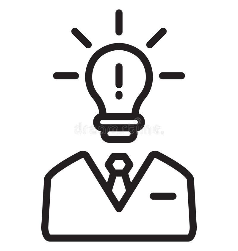 Ο προμηθευτής ιδέας απομόνωσε το διανυσματικό εικονίδιο που μπορεί να τροποποιηθεί εύκολα ή να εκδοθεί διανυσματική απεικόνιση