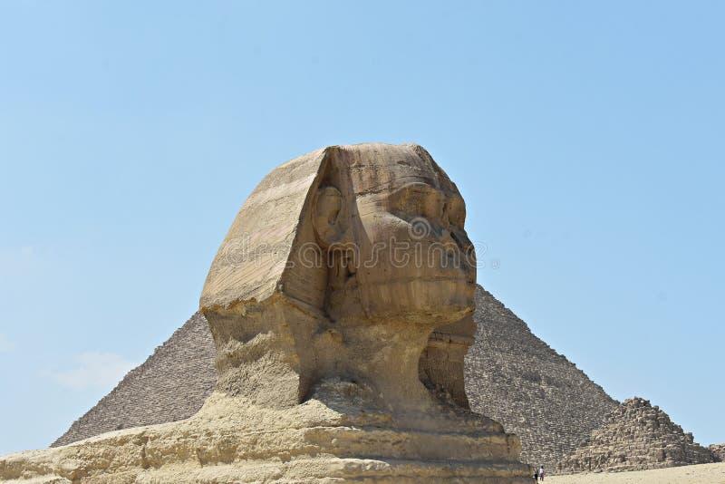 Ο προϊστάμενος του μεγάλου Sphinx Giza, Κάιρο, Αίγυπτος στοκ εικόνες