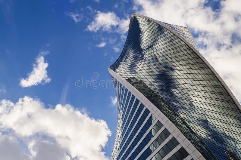 Ο πύργος εξέλιξης στη Μόσχα στοκ φωτογραφίες