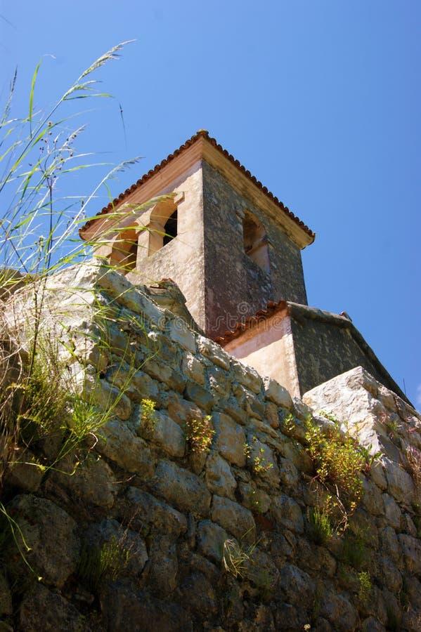 Ο πύργος κουδουνιών της εκκλησίας του ST Anthony στοκ εικόνες με δικαίωμα ελεύθερης χρήσης