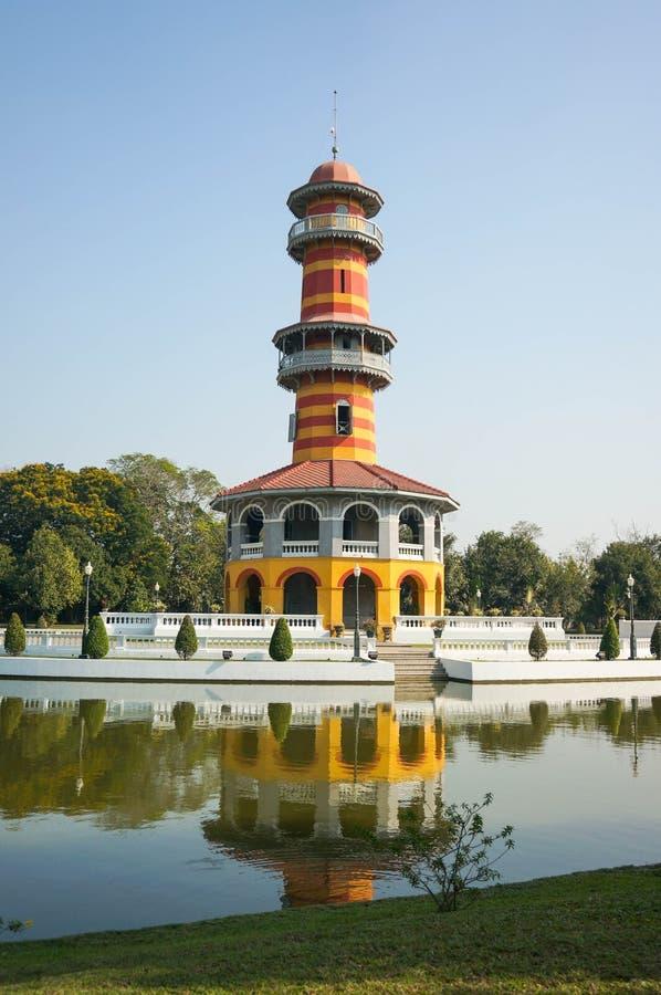 Ο πύργος παρατήρησης στο παλάτι πόνου κτυπήματος στοκ εικόνες