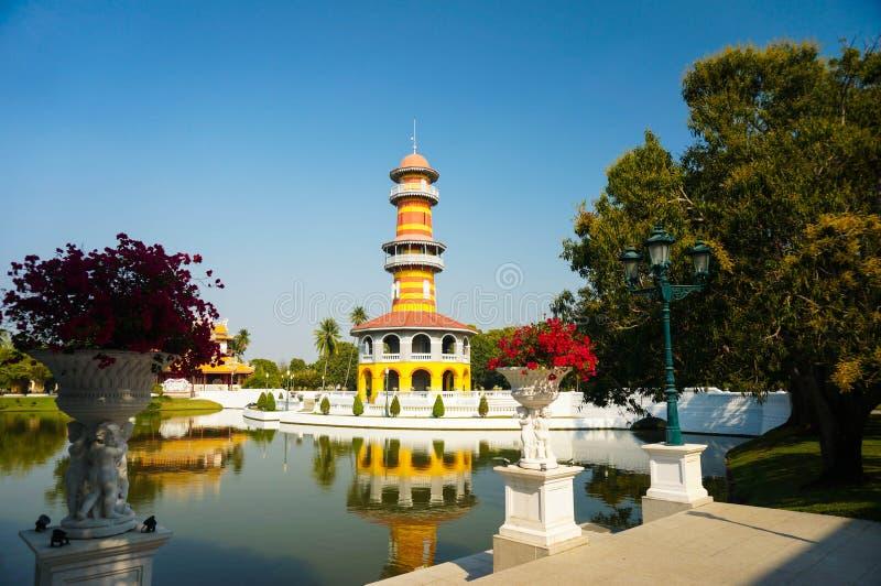 Ο πύργος παρατήρησης στο παλάτι πόνου κτυπήματος στοκ φωτογραφίες με δικαίωμα ελεύθερης χρήσης