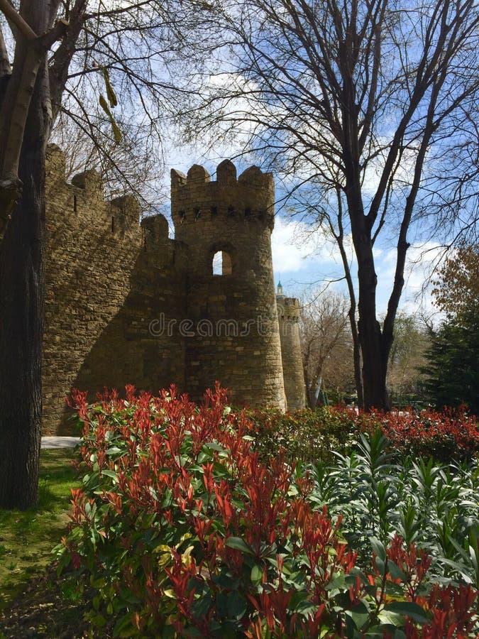 Ο πύργος της παλαιάς πόλης στοκ εικόνες