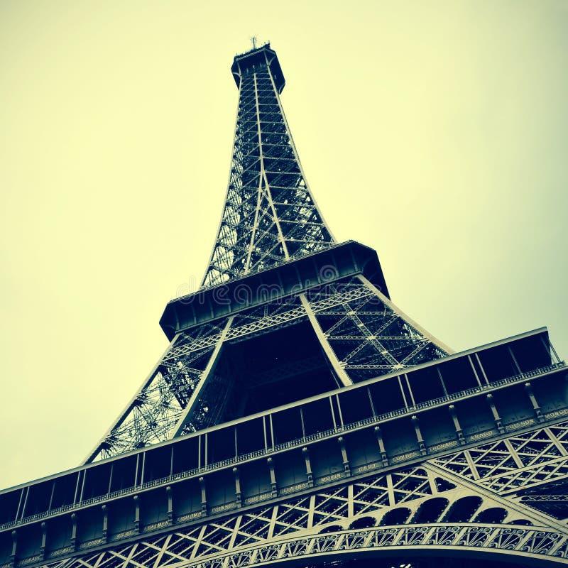 Ο πύργος του Άιφελ στο Παρίσι, Γαλλία στοκ εικόνες με δικαίωμα ελεύθερης χρήσης