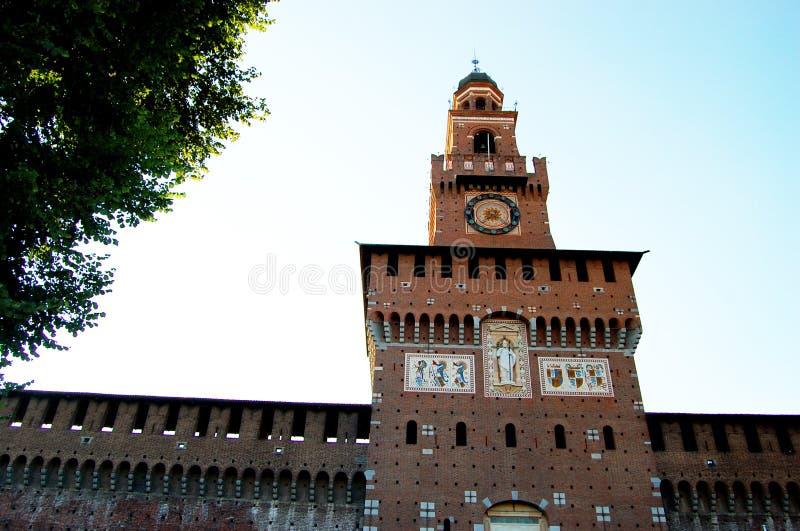 Ο πύργος του κάστρου στοκ εικόνες