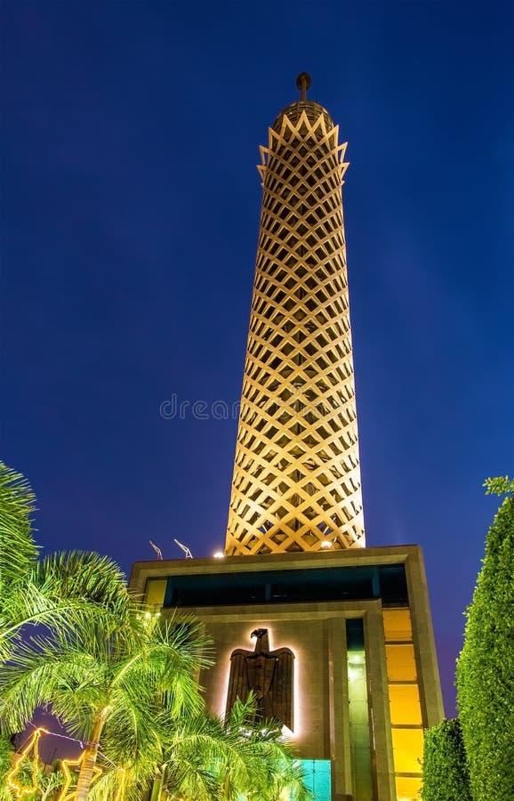 Ο πύργος του Καίρου στην Αίγυπτο στοκ φωτογραφία με δικαίωμα ελεύθερης χρήσης