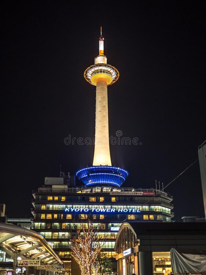 Ο πύργος του Κιότο στοκ φωτογραφία με δικαίωμα ελεύθερης χρήσης