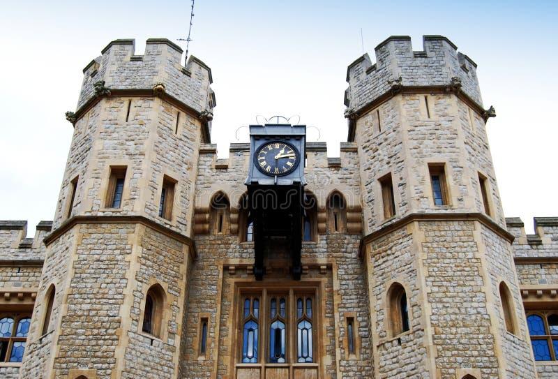 Ο πύργος του Λονδίνου, σπίτι κοσμημάτων, Λονδίνο, Αγγλία, UK στοκ εικόνες