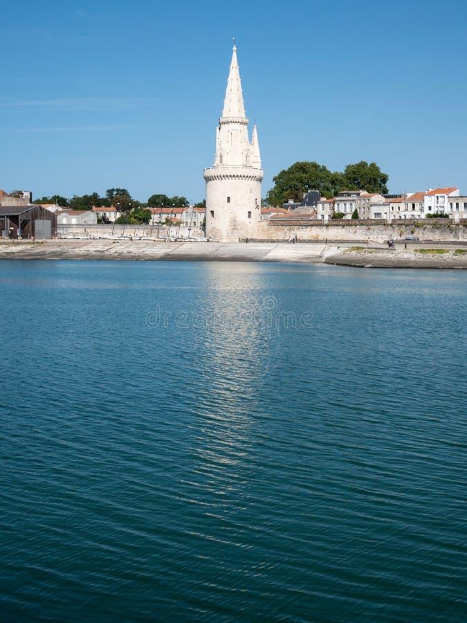 Ο πύργος φαναριών στο Λα Ροσέλ, Γαλλία στοκ φωτογραφίες