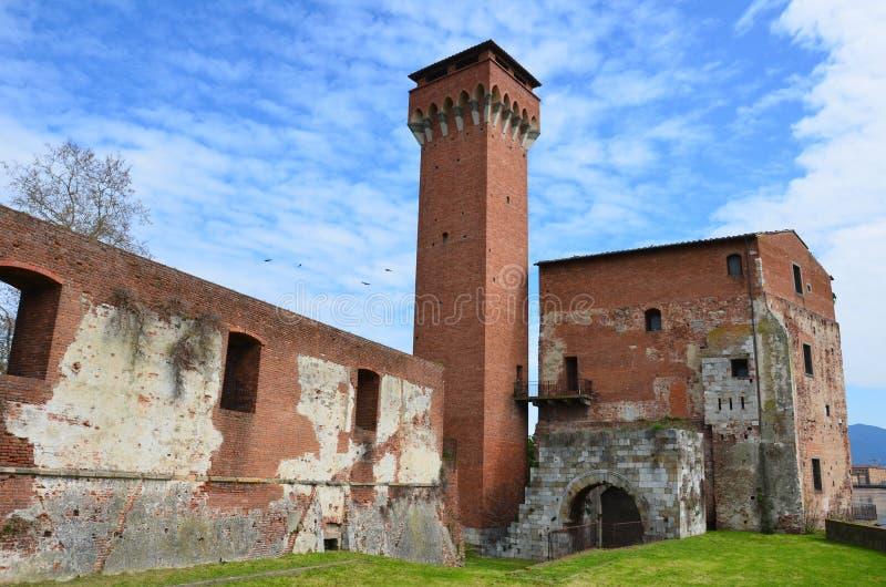 Ο πύργος Guelfa και η ακρόπολη, Πίζα στοκ εικόνες με δικαίωμα ελεύθερης χρήσης