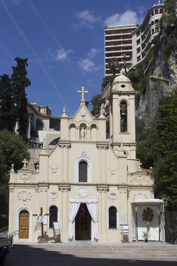 Ο Ρωμαίος - το καθολικό παρεκκλησι sainte-αφιερώνει στο Μόντε Κάρλο στοκ φωτογραφίες με δικαίωμα ελεύθερης χρήσης