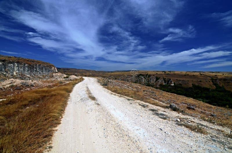 Ο δρόμος κάπου στοκ εικόνα