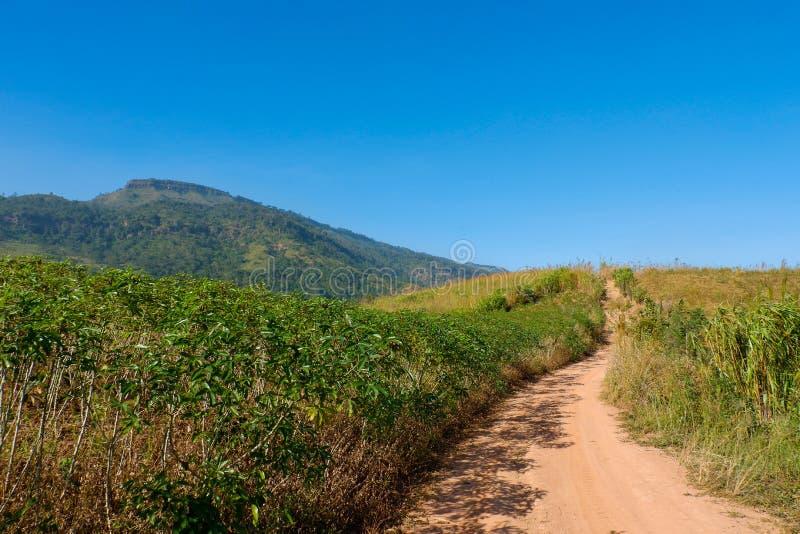 Ο δρόμος πηγαίνει στο βουνό στοκ φωτογραφία με δικαίωμα ελεύθερης χρήσης