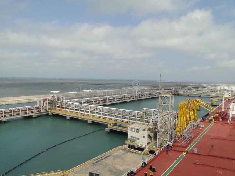 Ο σίτος είναι λαοτιανό πετρελαιοφόρο εκφόρτωσης της Ταϊβάν στοκ φωτογραφία με δικαίωμα ελεύθερης χρήσης