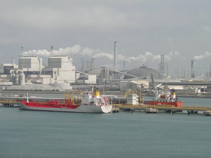 Ο σίτος είναι λαοτιανό πετρελαιοφόρο εκφόρτωσης της Ταϊβάν στοκ φωτογραφία