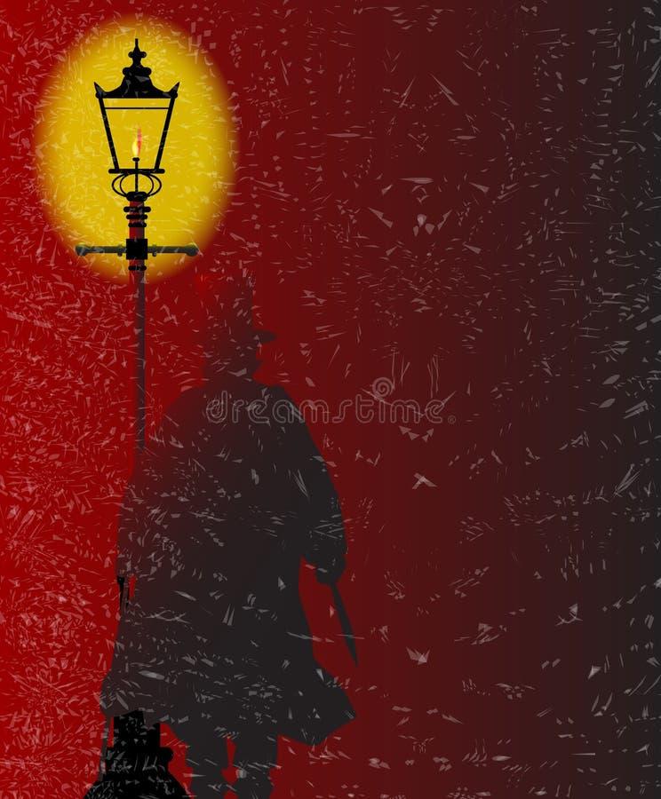 Ο σκαριφιστήρας Gaslight απεικόνιση αποθεμάτων