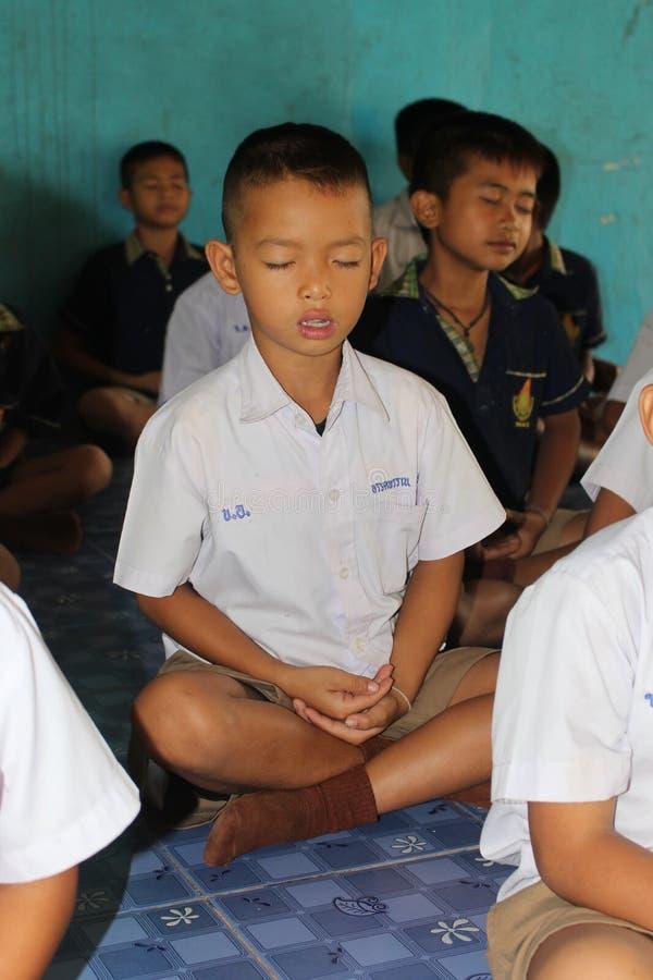Ο σπουδαστής εκπαιδεύει τη συγκέντρωση στοκ φωτογραφία με δικαίωμα ελεύθερης χρήσης