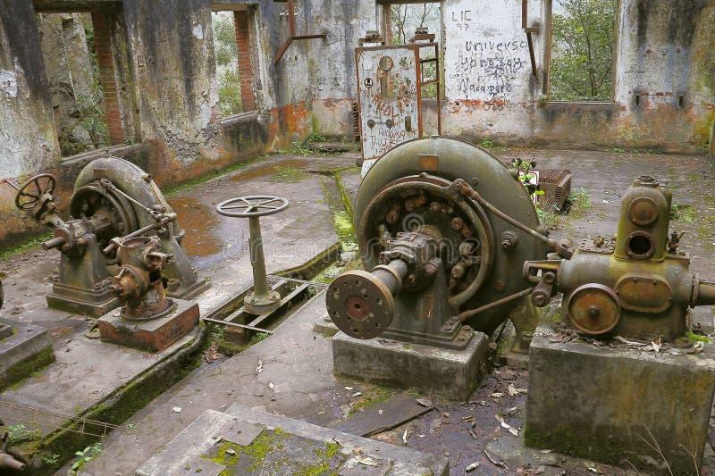 Ο σταθμός παραγωγής ηλεκτρικού ρεύματος καταστρέφει ΙΙΙ στοκ φωτογραφία με δικαίωμα ελεύθερης χρήσης
