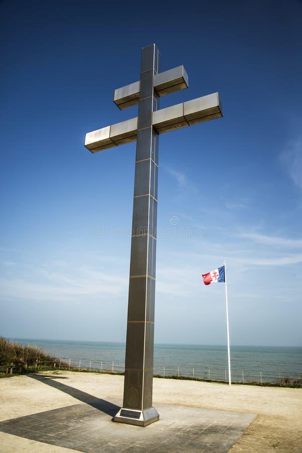 Ο σταυρός της Λωρραίνης στοκ εικόνες με δικαίωμα ελεύθερης χρήσης