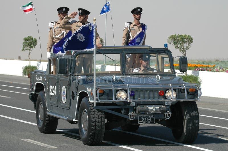 ο στρατός Κουβέιτ εμφανίζει στοκ εικόνα