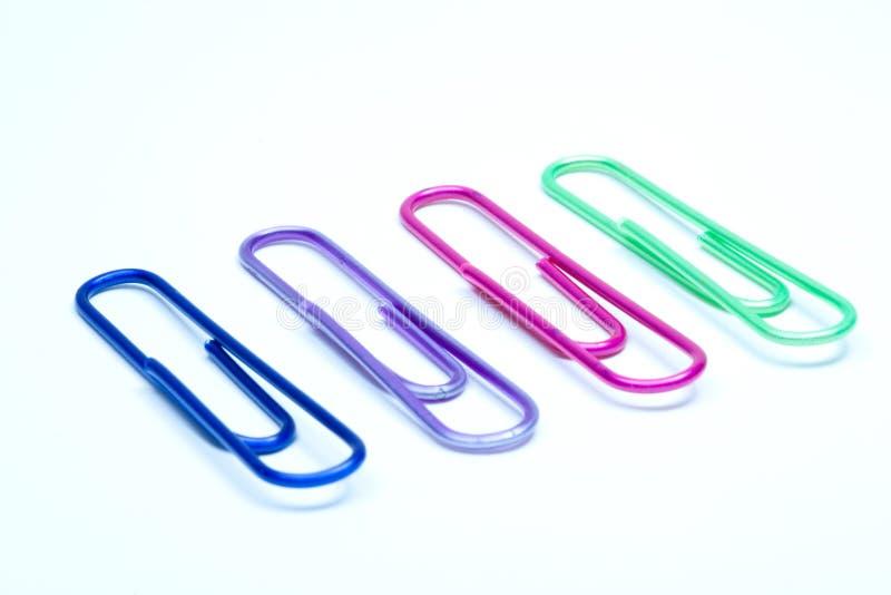 ο συνδετήρας χρωματίζει & στοκ φωτογραφίες