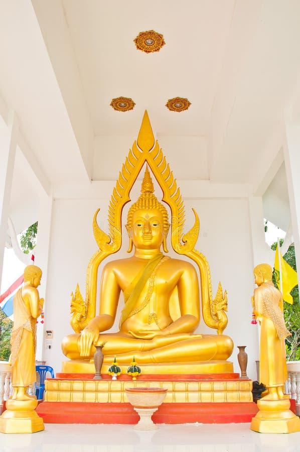 Ο ταϊλανδικός Βούδας στην Ταϊλάνδη στοκ εικόνες