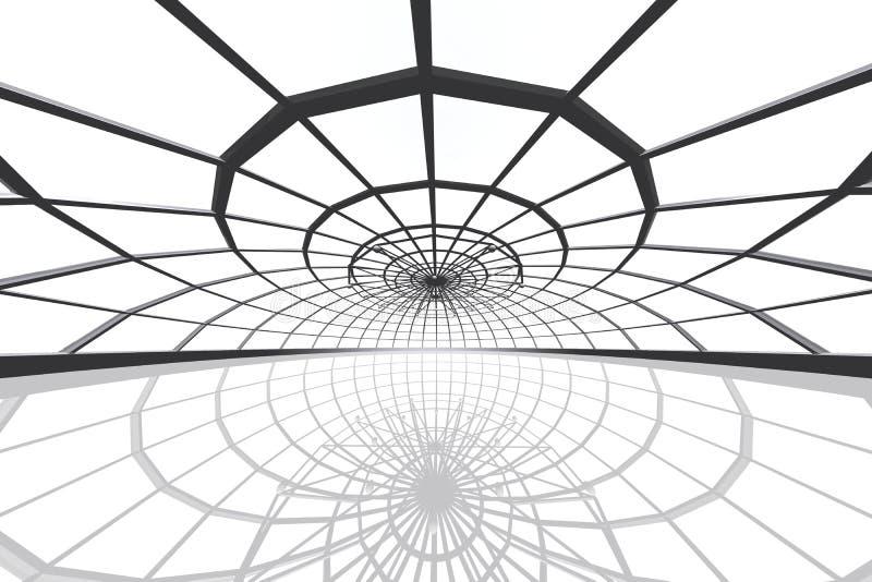 Ο τεράστιος χώρος πατινάζ τρισδιάστατος δίνει απεικόνιση αποθεμάτων