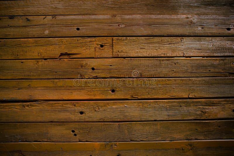 Ο τοίχος των ξύλινων σανίδων Ξύλινη ανασκόπηση Η σύσταση του πίνακα Ξύλινη σύσταση στοκ εικόνες