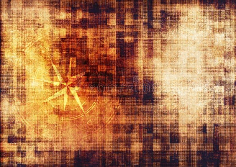 Ο τρύγος εκκρίνει τον κώδικα διανυσματική απεικόνιση