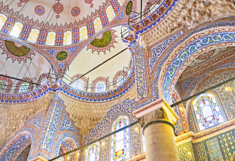 Ο υπερήφανος της Ιστανμπούλ στοκ εικόνες με δικαίωμα ελεύθερης χρήσης