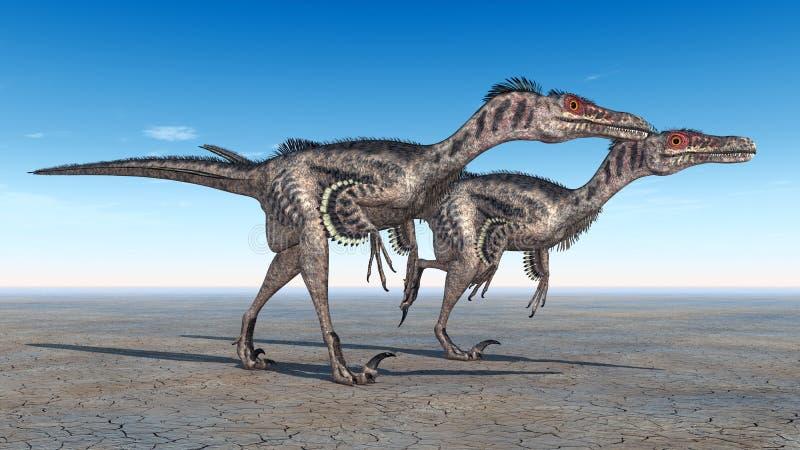 Velociraptor διανυσματική απεικόνιση