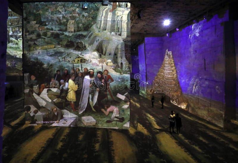 Ο φανταστικός και θαυμάσιος κόσμος Bosch, Brueghel και Arcimboldo στοκ φωτογραφία