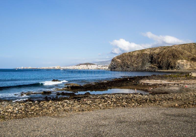 Ο φοίνικας χαλά την παραλία στοκ φωτογραφίες με δικαίωμα ελεύθερης χρήσης