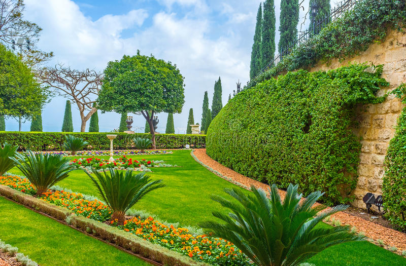 Ο φυσικός κήπος στοκ εικόνες