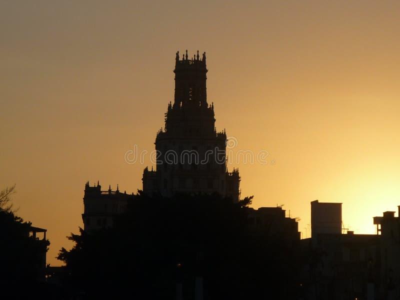 Ο φύλακας του ηλιοβασιλέματος στοκ φωτογραφίες με δικαίωμα ελεύθερης χρήσης