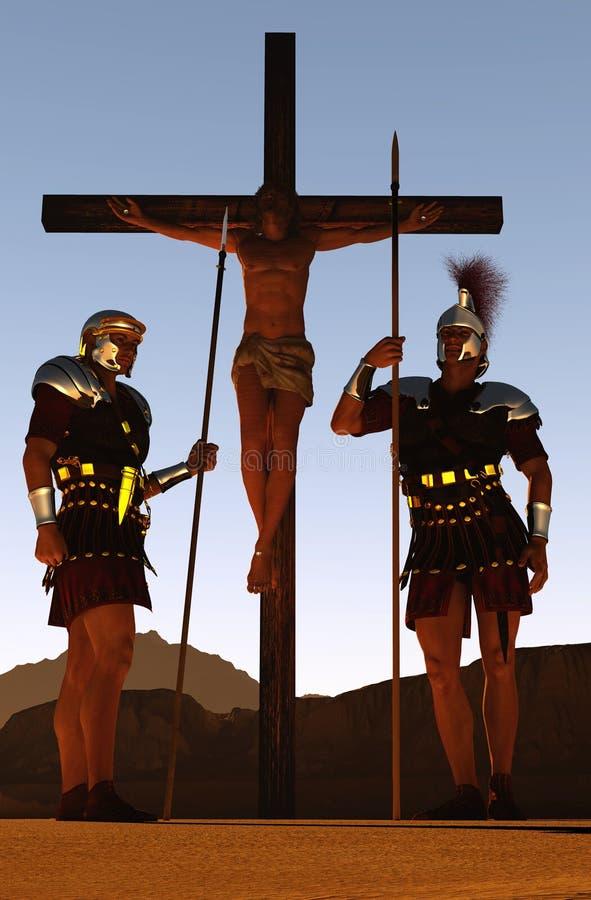 Ο Χριστός διανυσματική απεικόνιση