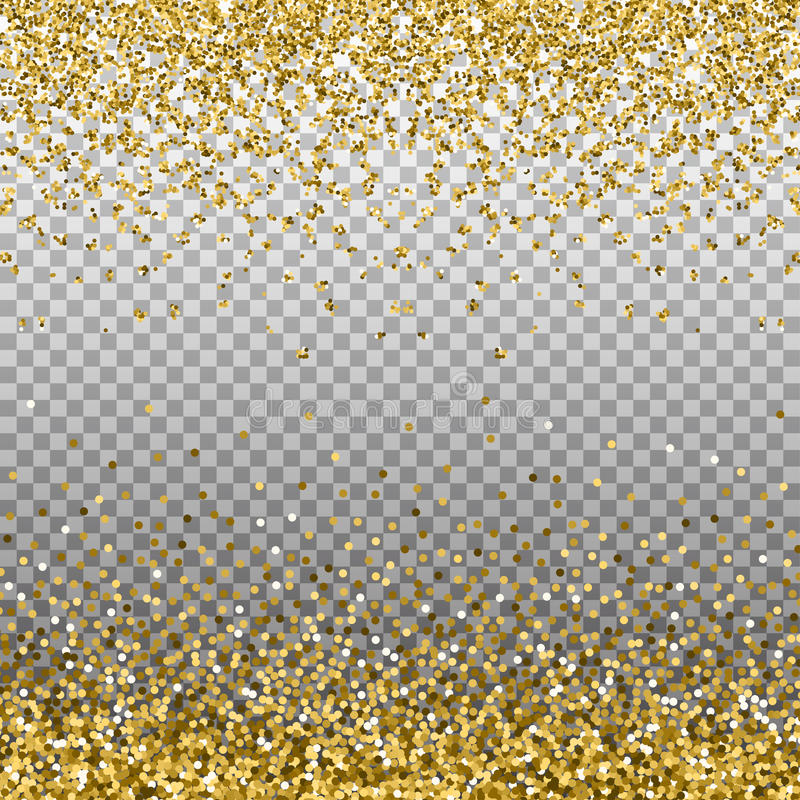 Ο χρυσός ακτινοβολεί υπόβαθρο Χρυσά σπινθηρίσματα στα σύνορα Πρότυπο για τα σχέδια διακοπών, πρόσκληση, κόμμα, γενέθλια, γάμος, ν