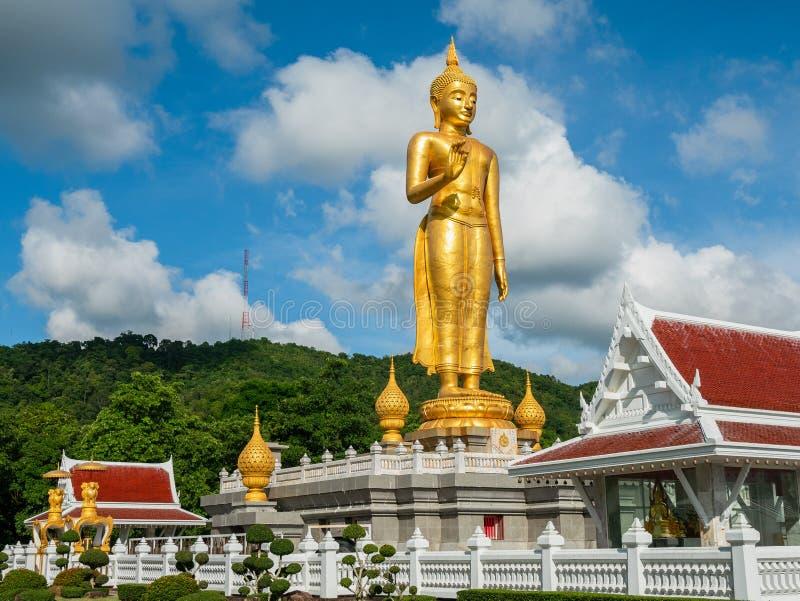 Ο χρυσός Βούδας στο καπέλο Yai, Ταϊλάνδη στοκ φωτογραφίες με δικαίωμα ελεύθερης χρήσης