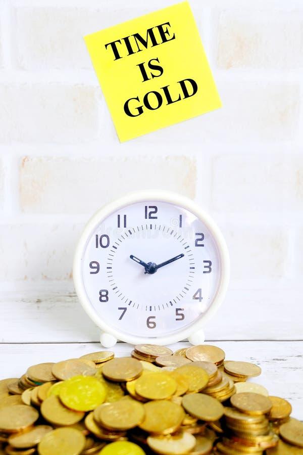 Ο χρόνος είναι χρυσός στοκ φωτογραφίες με δικαίωμα ελεύθερης χρήσης