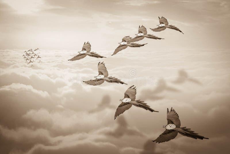 Ο χρόνος πετά στοκ φωτογραφία με δικαίωμα ελεύθερης χρήσης