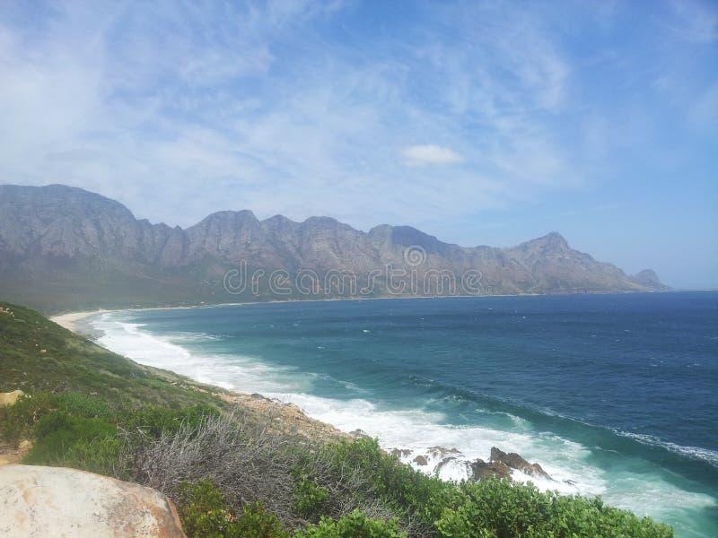Ο ωκεανός συναντά τον ουρανό στοκ φωτογραφίες με δικαίωμα ελεύθερης χρήσης