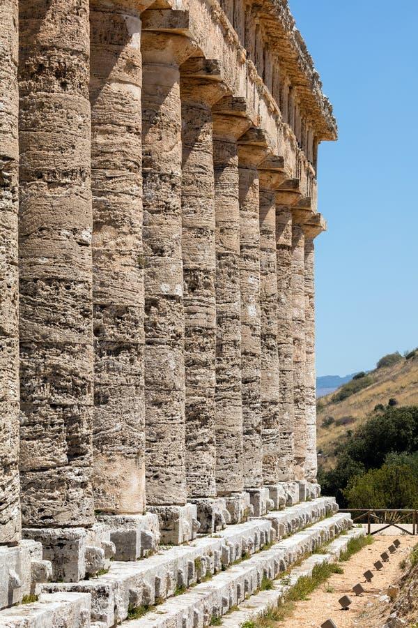 Ο δωρικός ναός Segesta στοκ φωτογραφία με δικαίωμα ελεύθερης χρήσης