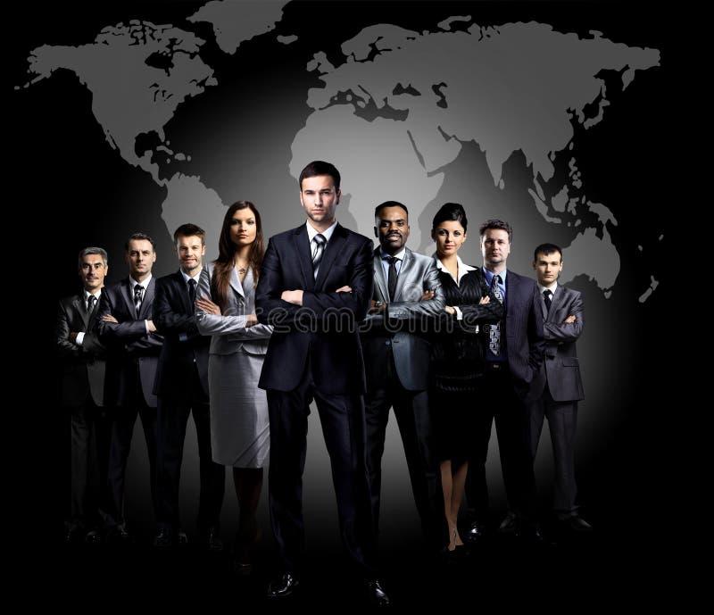 Ολόκληρο πορτρέτο της ομάδας στοκ εικόνες με δικαίωμα ελεύθερης χρήσης
