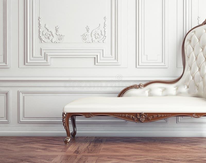 Ο όμορφος εκλεκτής ποιότητας καναπές απεικόνιση αποθεμάτων